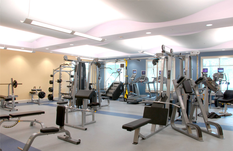 fitness center At Brunswick Forest