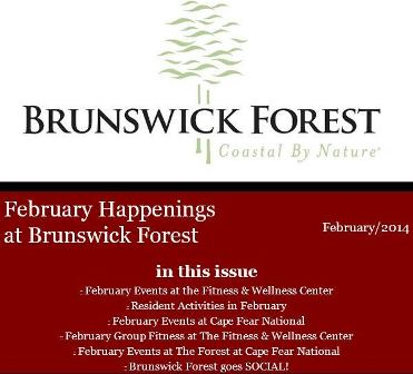 Brunswick Forest newsletter