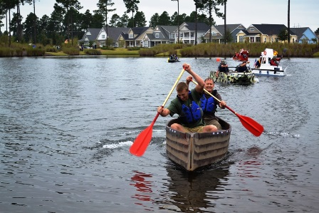 Brunswick Forest boat regatta