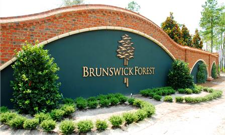 Brunswick Forest sign
