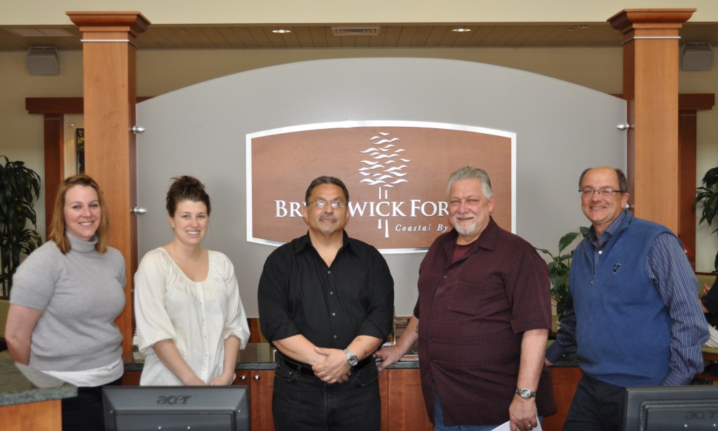Group shot of Brunswick Forest Staff