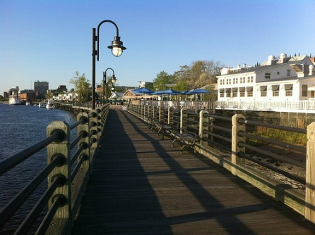 Riverwalk downtown Wilmington