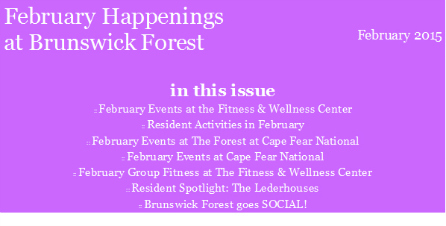 FEB EVENTS 2015