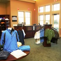 Clothing at the Pro Shop