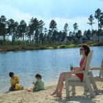 Hammock Lake Park -  white sand beach and walking trails