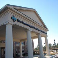 Front Entrance at New Hanover Regional Medical Center at The Villages