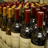 Wine inside of Lowes Foods