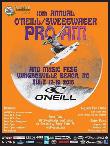 O'NEILL/SWEETWATER PRO-AM SURF FEST