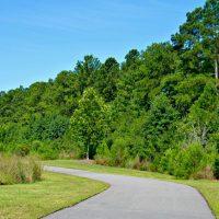 Meadow Park walking path
