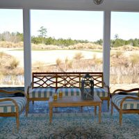 The Jarrett Bay at Brunswick Forest screened porch