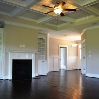 The great room in the Ansley II