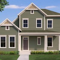 The Arwood front elevation 1