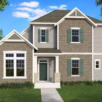 The Arwood front elevation 2