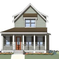 The Ashley front elevation 1