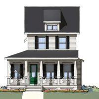 The Ashley front elevation 2