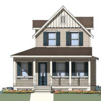 The Ashley front elevation 3
