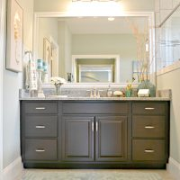 Avalon master bathroom vanity Brunswick Forest