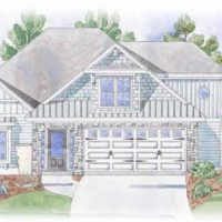 Summerwind Villas at Brunswick Forest - front elevation 2