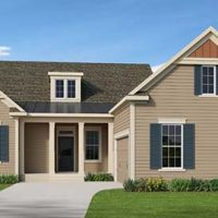 The Caulfield at Brunswick Forest - front elevation 2