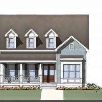 The Cooper at Brunswick Forest - front elevation 2
