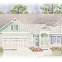The Currituck at Brunswick Forest - front elevation 1