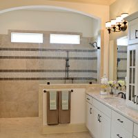 The Bitmore's master bathroom