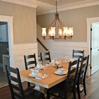 The Annabelle's dining room
