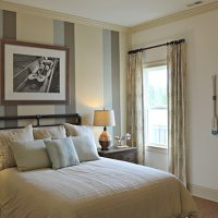 A guest bedroom in the Bitmore