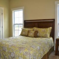 Another guest bedroom of the Nantucket II at Brunswick Forest
