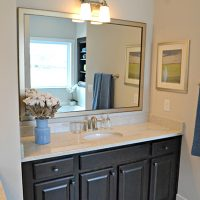 Lombard At Brunswick Forest Master Bathroom