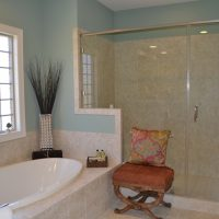 Valencia II At Brunswick Forest Master Bathroom