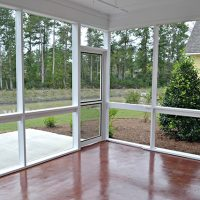 Somerset At Brunswick Forest Screened In Patio