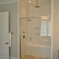 The Griffon At Brunswick Forest master bathroom shower