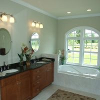 Lexington II At Brunswick Forest master bathroom
