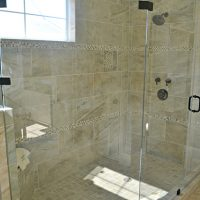 Amelia At Brunswick Forest Master Bathroom shower