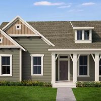 The Minnich at Brunswick Forest - front elevation 2