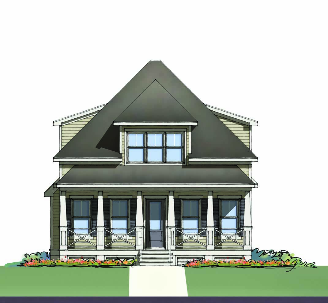 Montague At Brunswick Forest Rendering