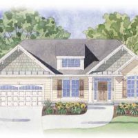The Newport II at Brunswick Forest - front elevation 1