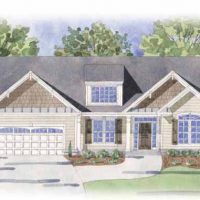 The Newport II at Brunswick Forest - front elevation 3
