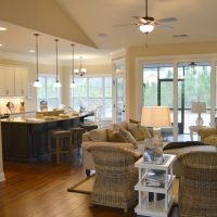 The Pelican II at Brunswick Forest features an open floor plan