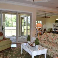 The Beaufort at Brunswick Forest Living Room