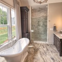 Meadowlark At Brunswick Forest Master Bathroom