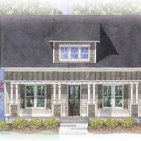 Hatteras - front elevation 3