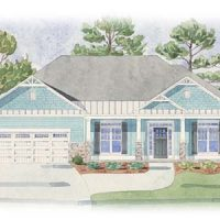 The Jewel II at Brunswick Forest - front elevation 3