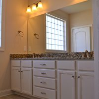 The Cooper's Bay master bathroom