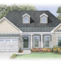 The Claremont I at Brunswick Forest - front elevation 2