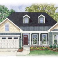 The Claremont II at Brunswick Forest - front elevation 2
