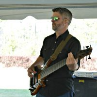 Brunswick Forest event guitarist playing
