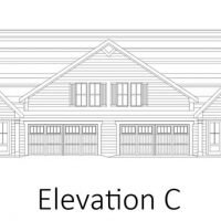 The Drayton II at Brunswick Forest - front elevation 3