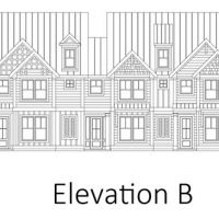 The Tennyson Townes at Brunswick Forest elevation B